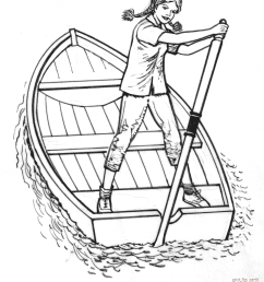 1686x2000 girl on a boat coloring page free printable coloring pages [ 1686 x 2000 Pixel ]