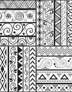 cute designs drawing easy patterns to draw with border also design at getdrawings free for personal use rh