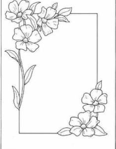 daisy chain embroidery and chains also border design drawing at getdrawings free for personal use rh