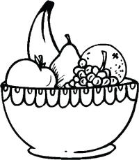 Bowl Of Fruit Drawing at GetDrawings.com | Free for ...