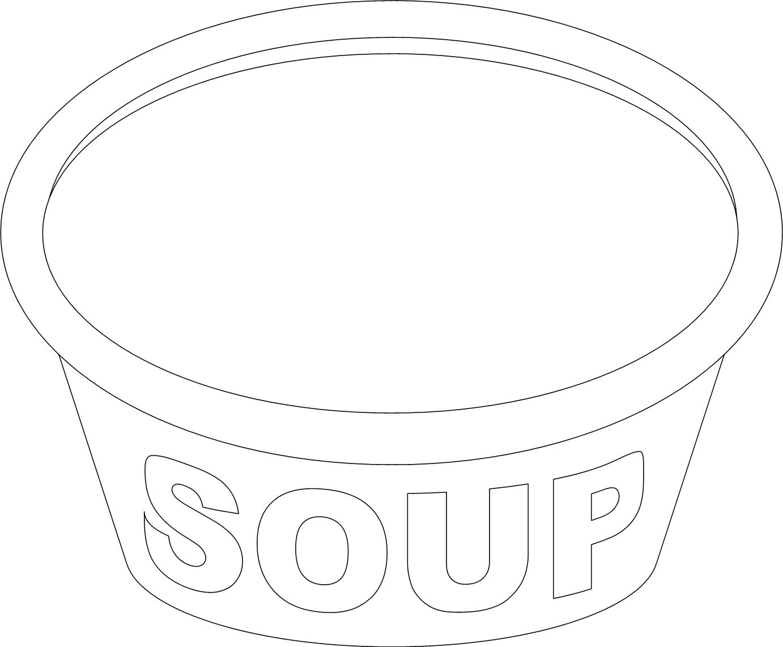 Bowl Of Soup Drawing At Getdrawings