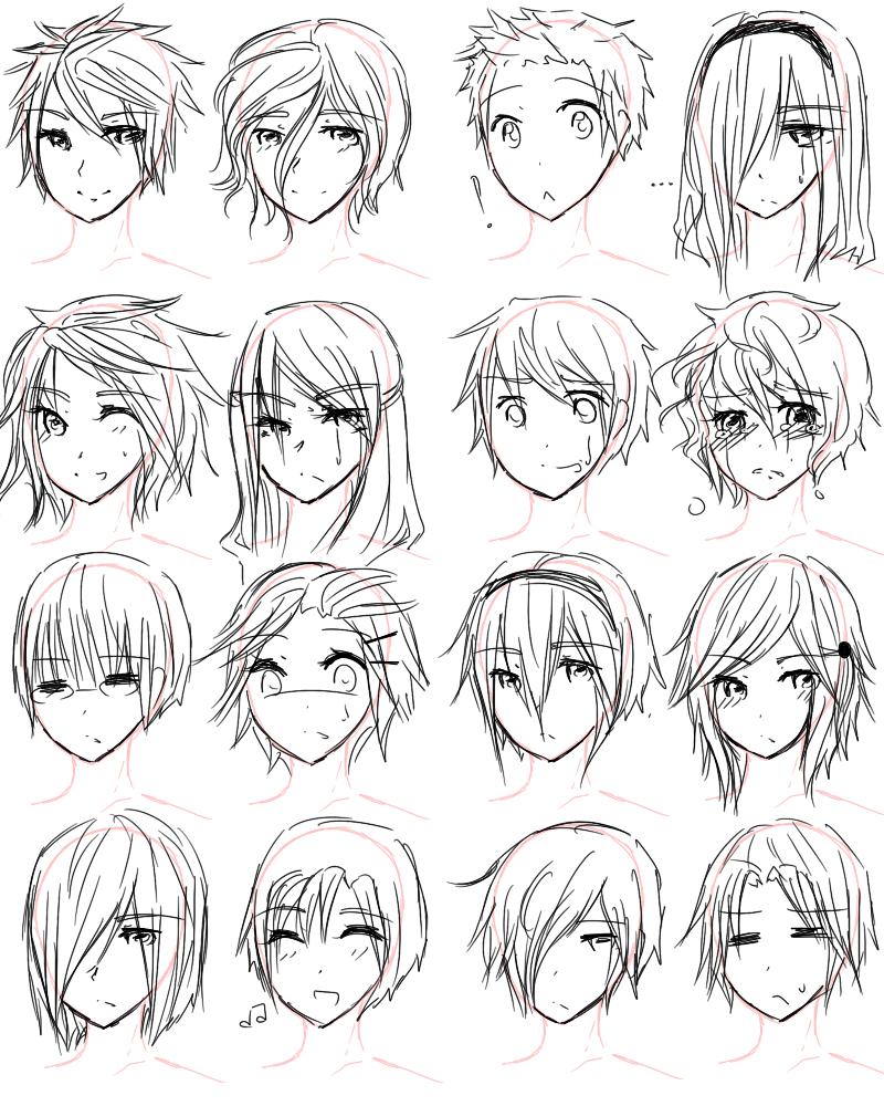 Cute Anime Boy Hair Reference Novocom Top