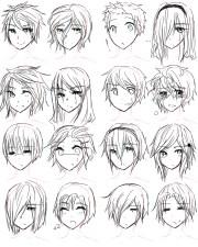 boy hairstyles drawing getdrawings