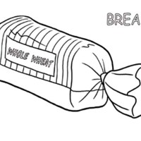 Bread Loaf Drawing at GetDrawings   Free download