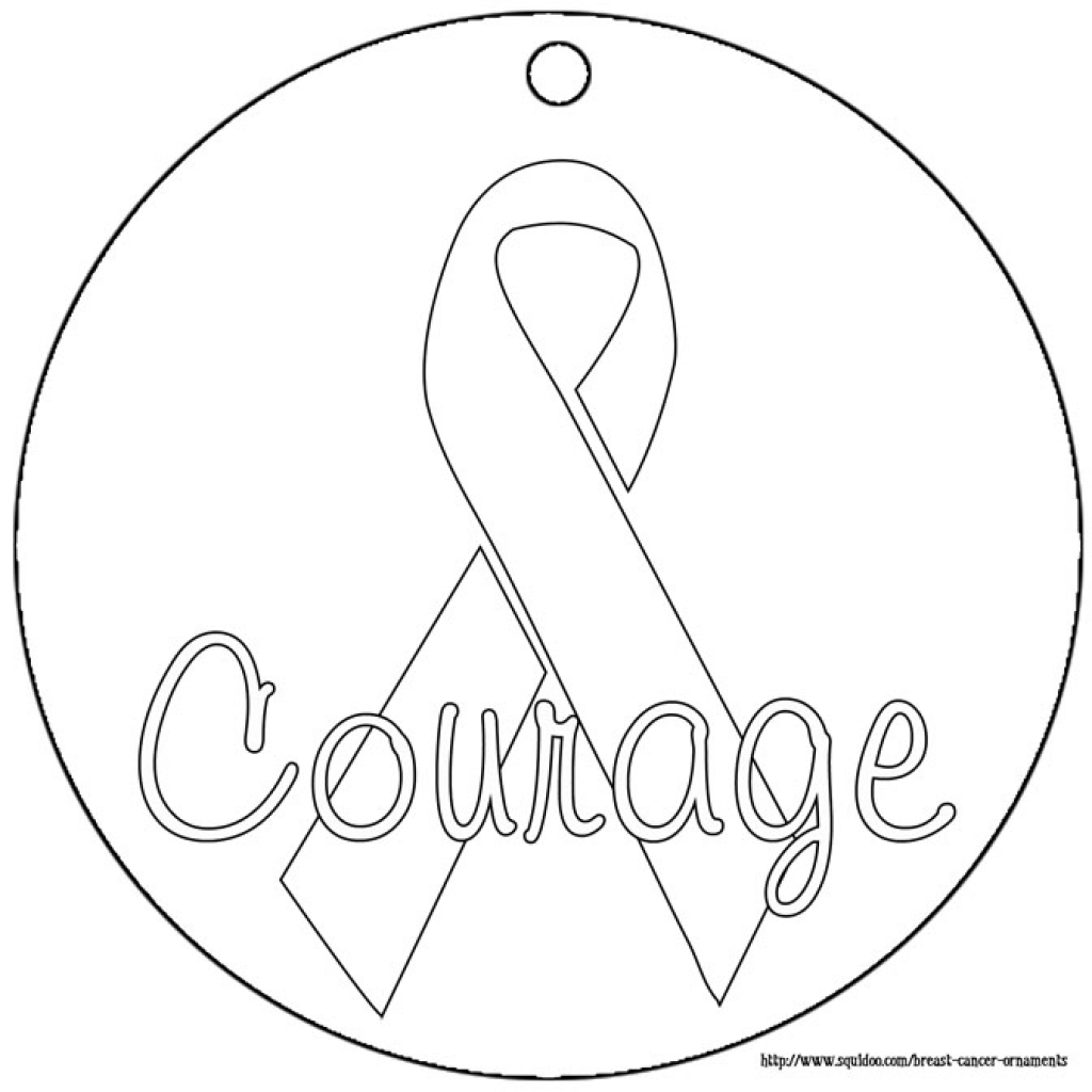 Breast Cancer Ribbon Drawing At Getdrawings
