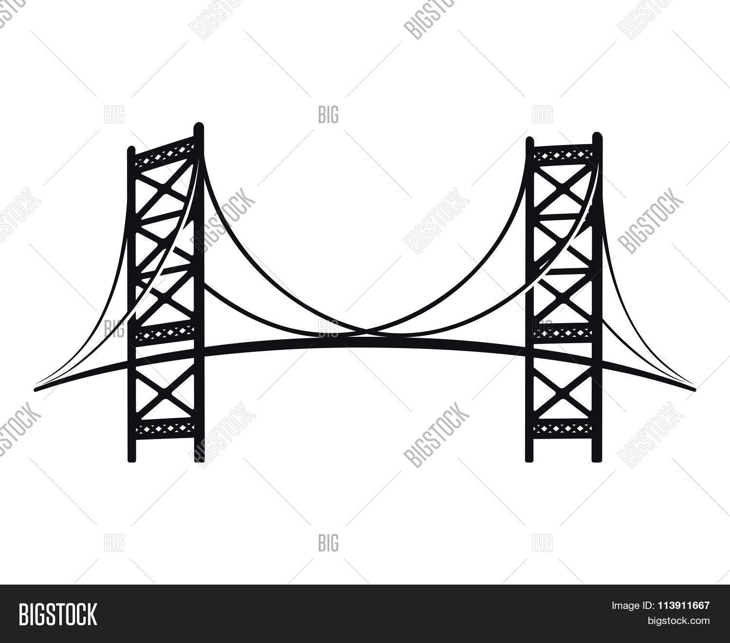 Bridge line drawing at getdrawings free for personal use