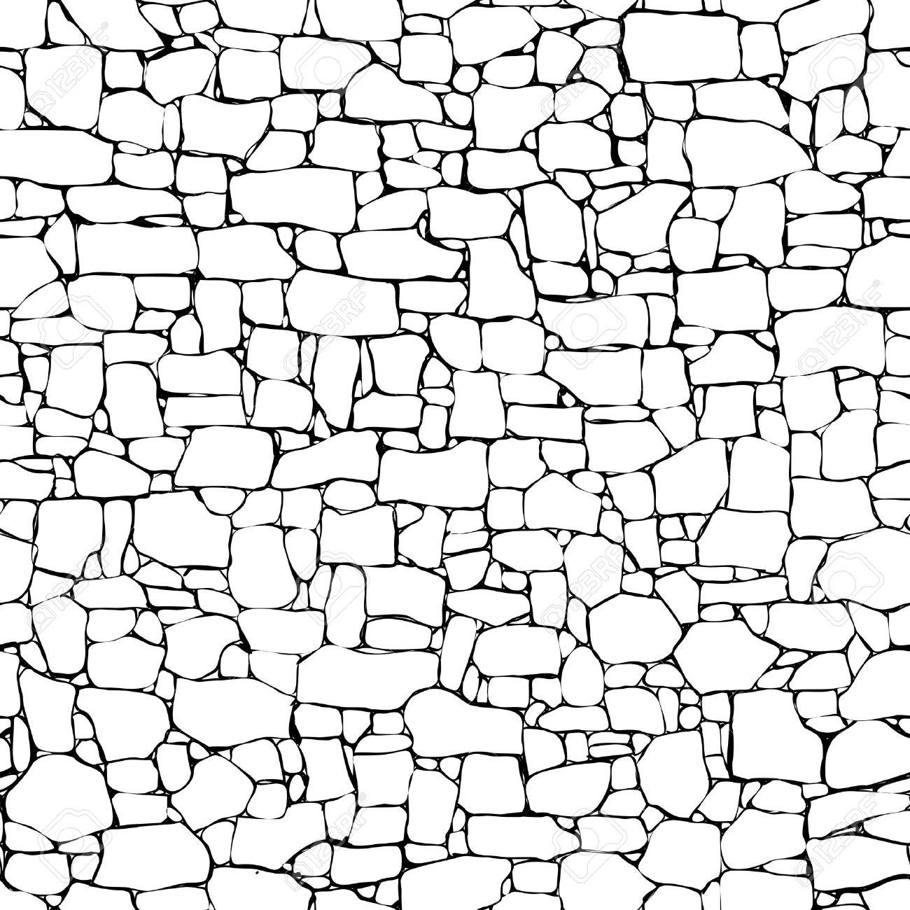 Broken Brick Wall Drawing At Getdrawings