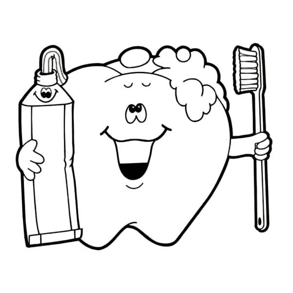 Brushing Teeth Drawing At Getdrawings