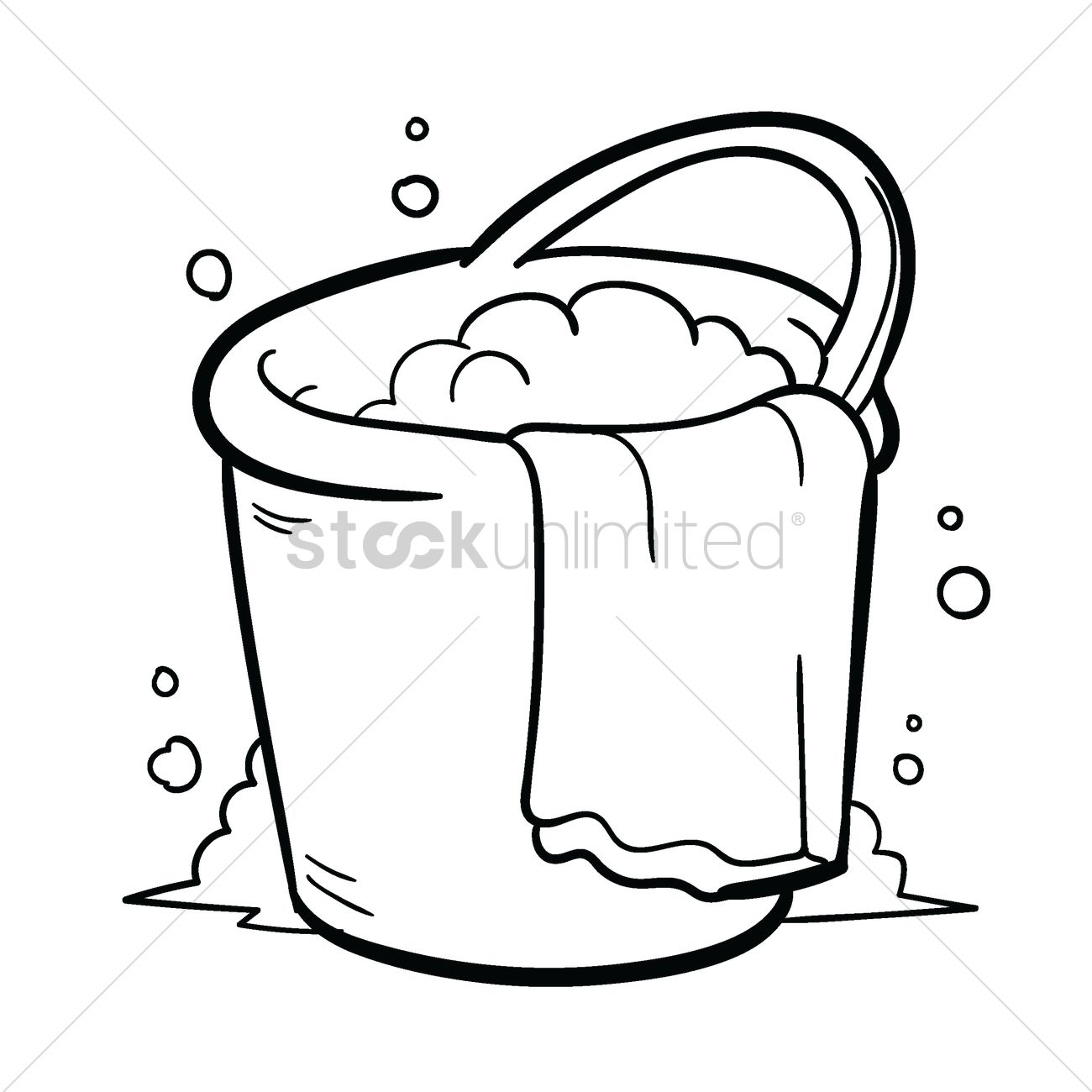 Bucket Drawing At Getdrawings