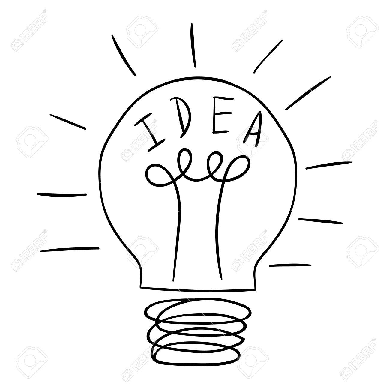Bulb Drawing At Getdrawings