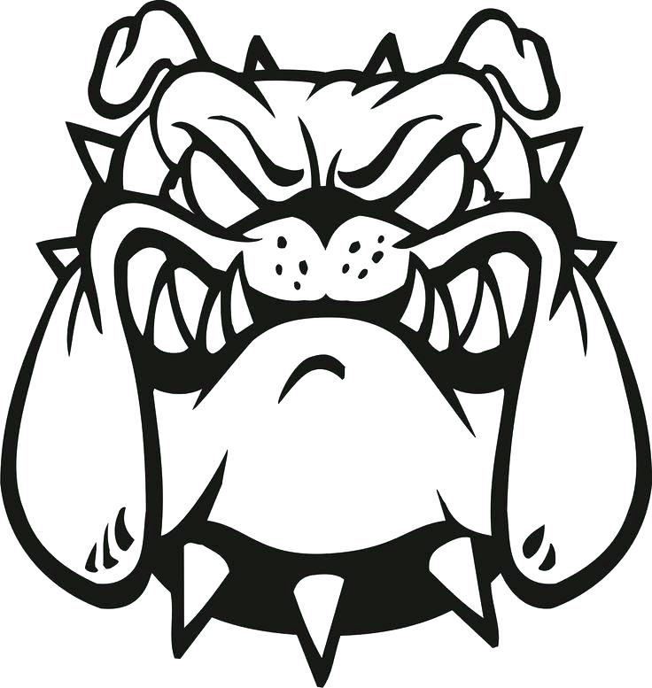 Georgia Bulldog Drawing At Getdrawings Com