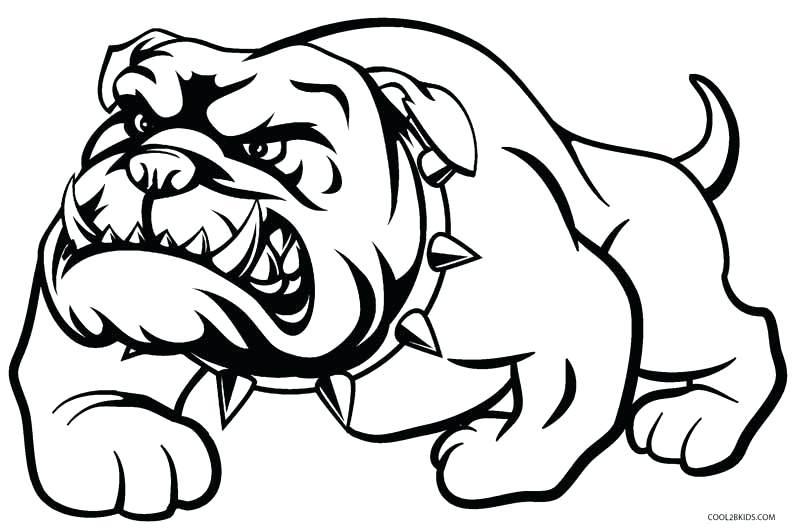 French Bulldog Clipart Black And White