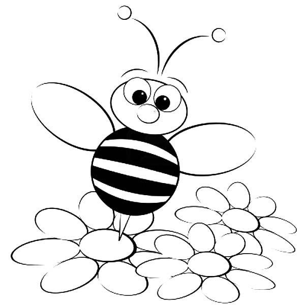 Draw Buzz The Bee