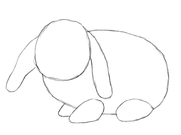 Thumper Rabbit Clip Cute