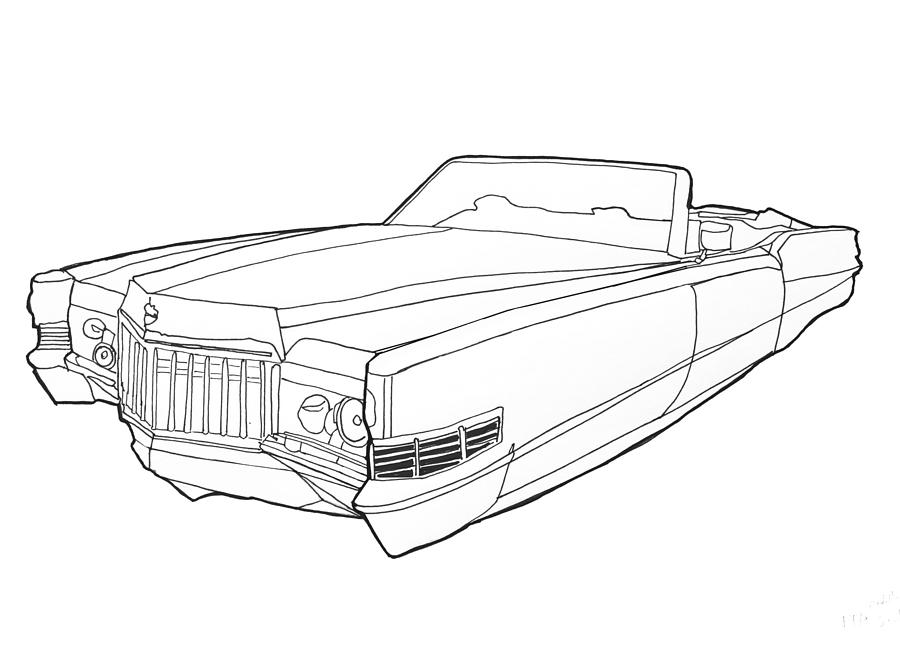 The best free Cadillac drawing images. Download from 104