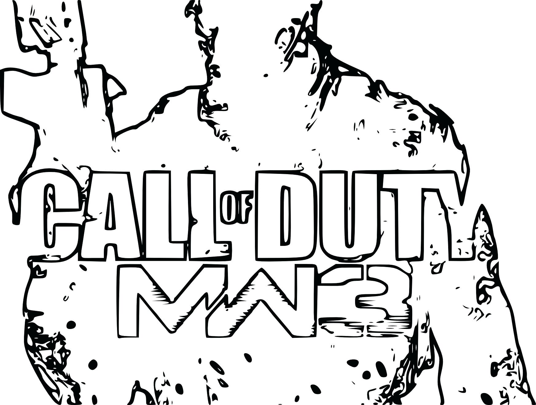 Call Of Duty Ghost Drawing At Getdrawings