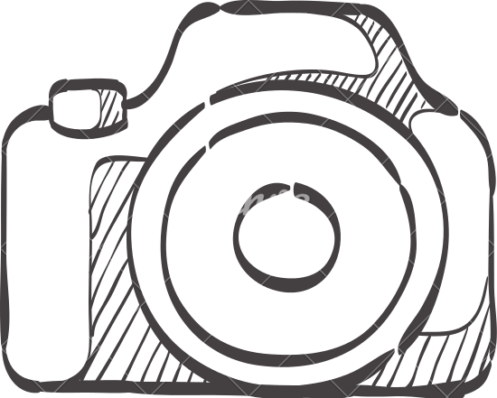 Surveillance Camera Line Icon Cctv And Security Device