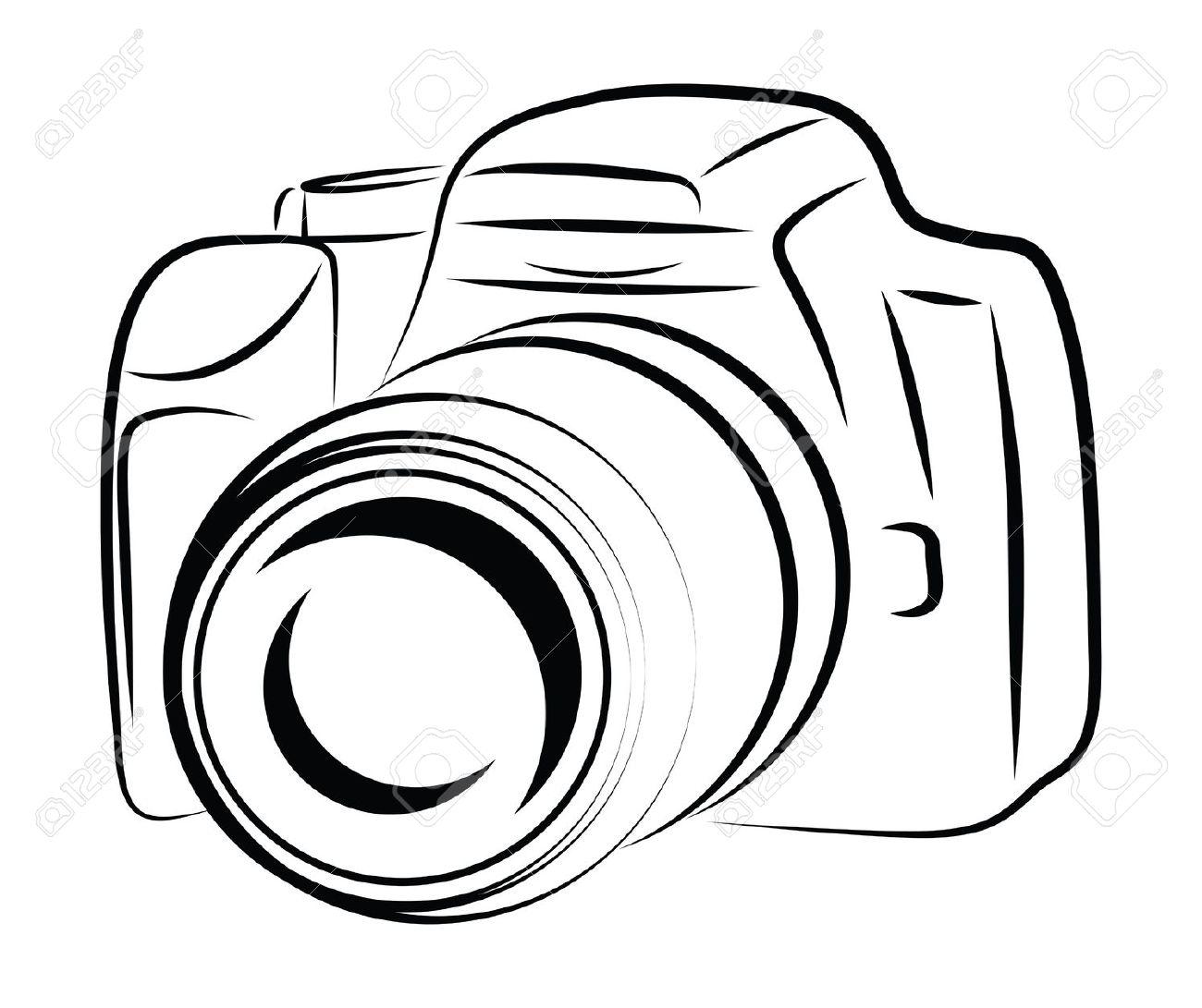 Canon Camera Drawing At Getdrawings