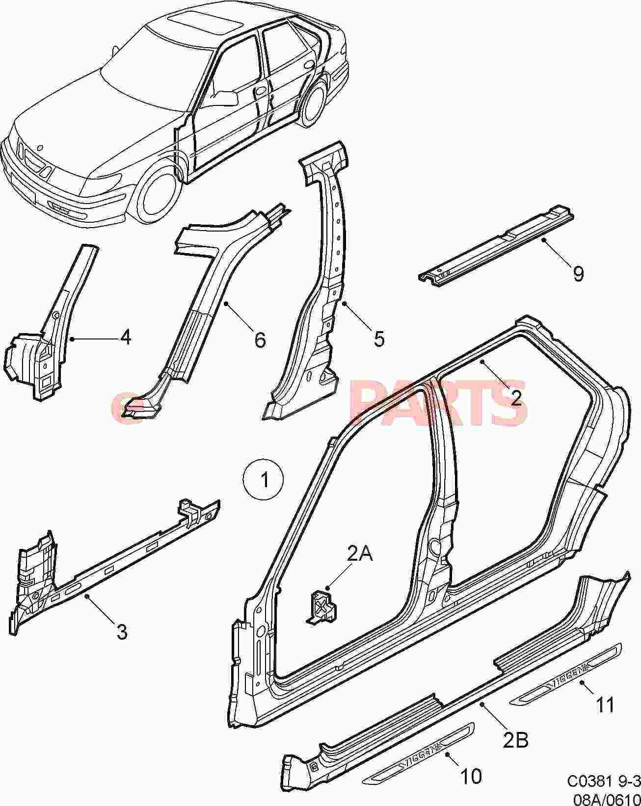 Car Body Drawing At Getdrawings