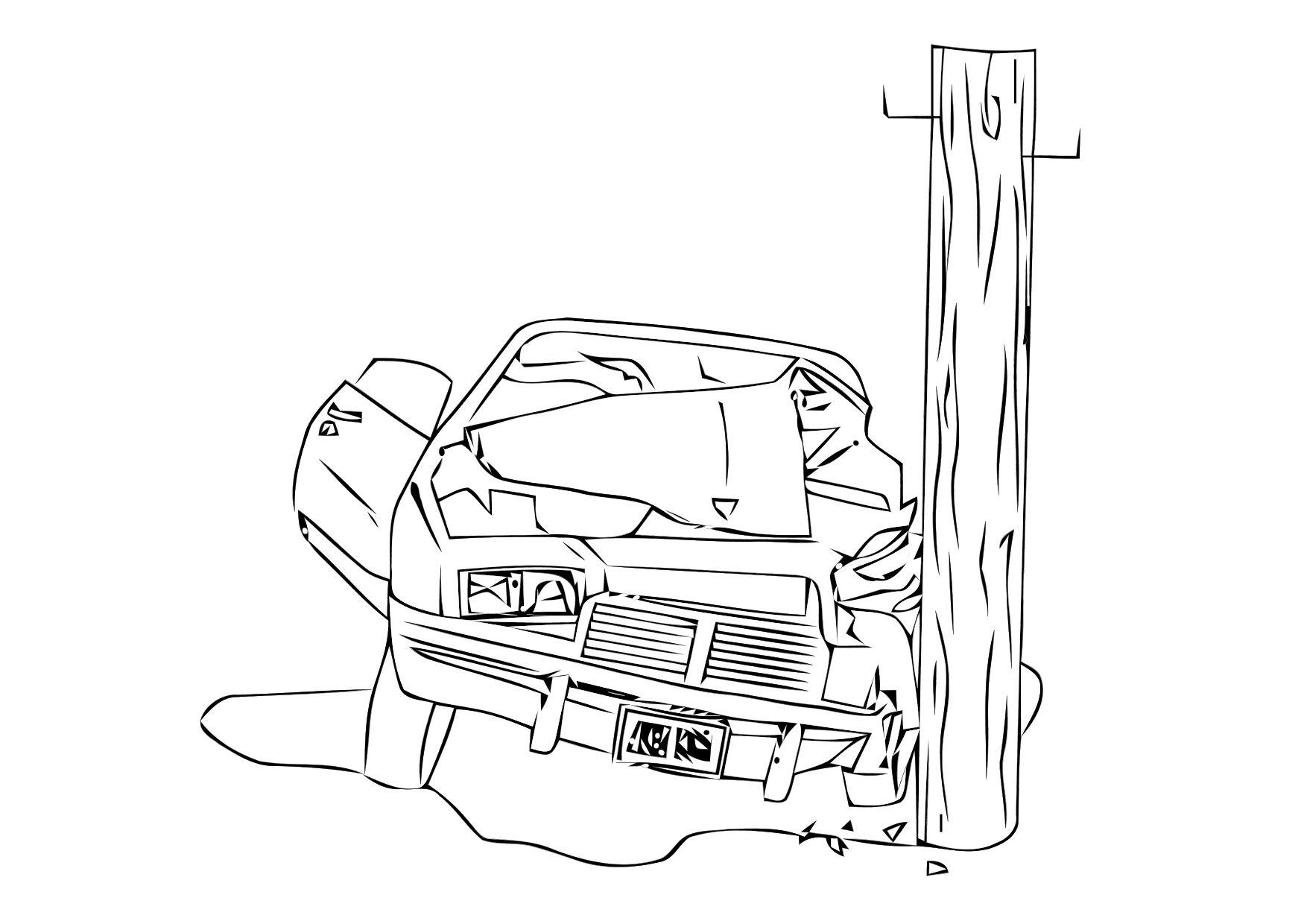 Stunning traffic accident sketch photos electrical system block