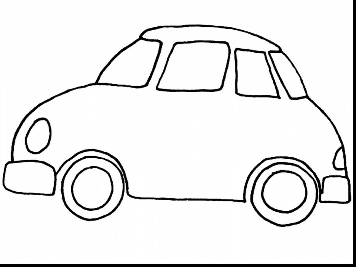 Car Drawing For Preschoolers At Getdrawings