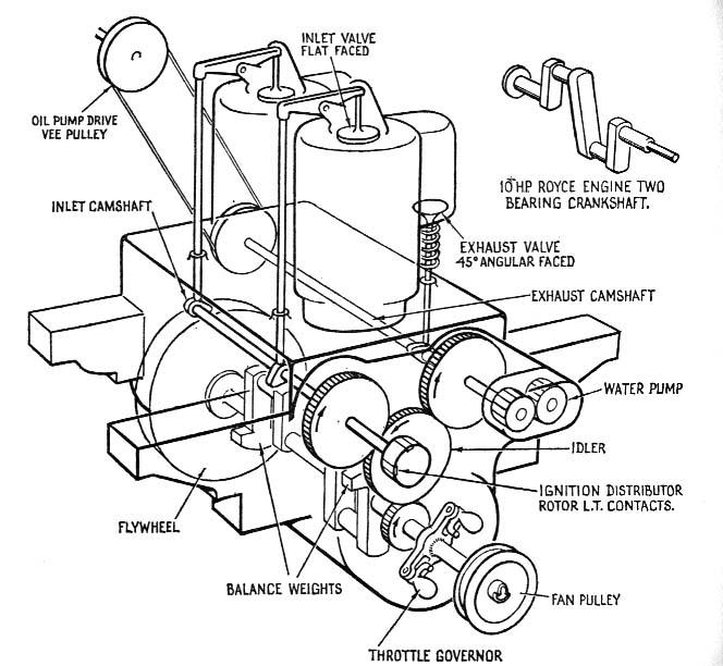 1974 vw engine parts diagram