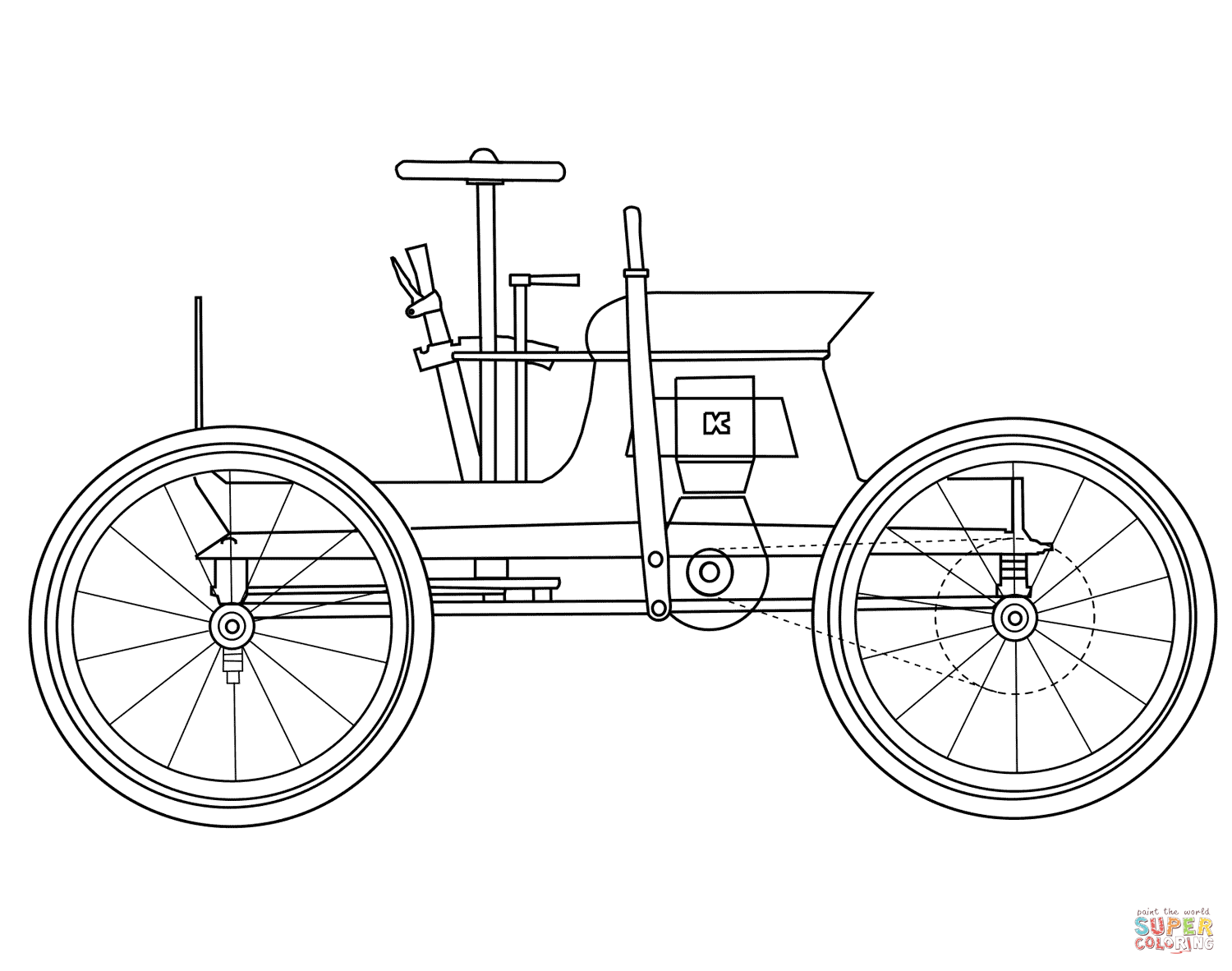 Car top view drawing at getdrawings free for personal use car