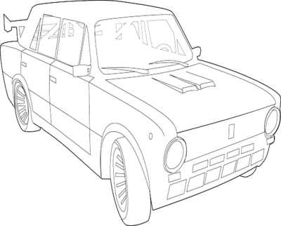 The best free Fiat drawing images. Download from 27 free
