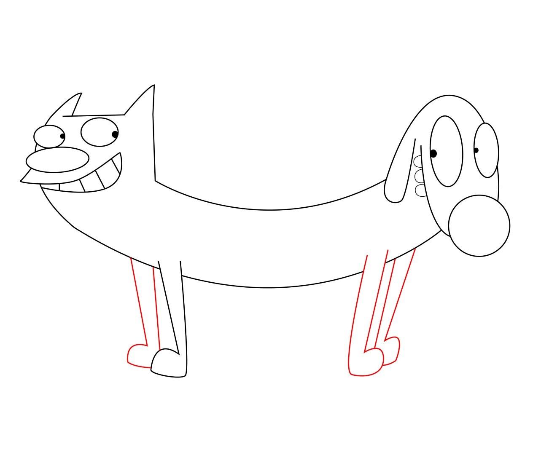 Cartoon Drawing Of Cat At Getdrawings