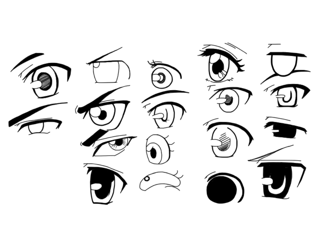 Cartoon Eye Drawing At Getdrawings
