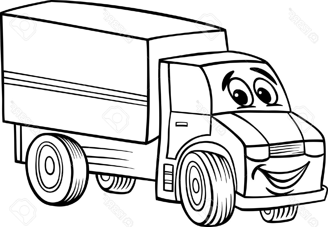 Cartoon Truck Drawing At Getdrawings