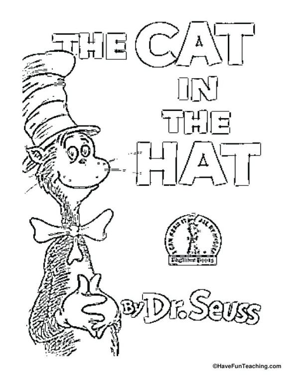 the cat in the hat coloring pages # 22