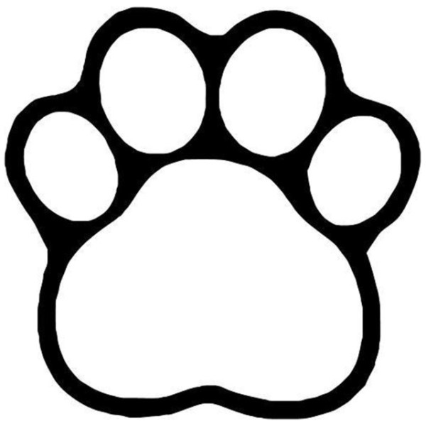 20 Cute Dog Paw Print Clip Art Ideas And Designs