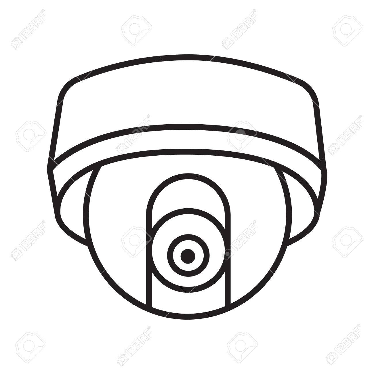 Cctv Camera Drawing At Getdrawings
