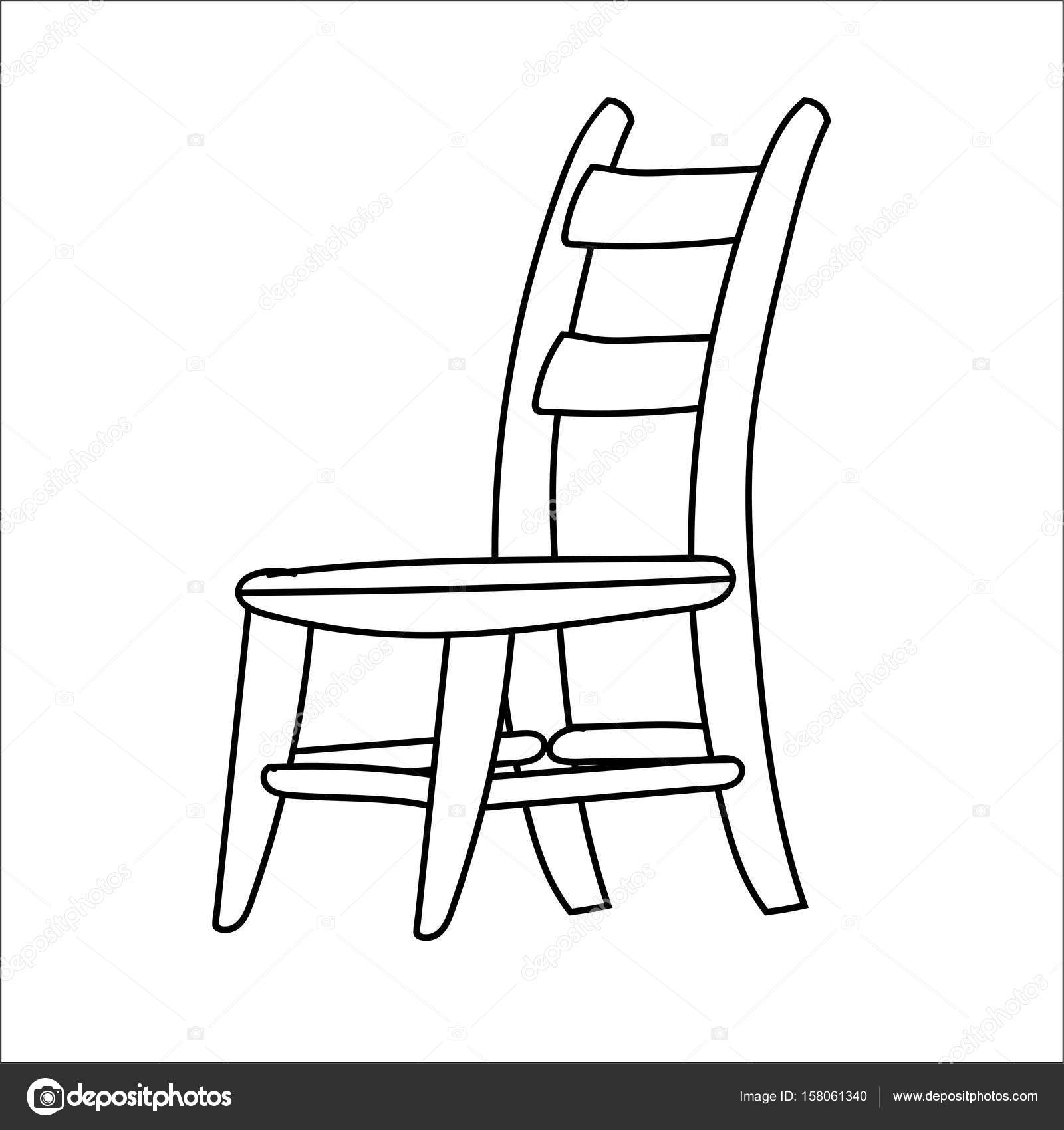 Chair Line Drawing At Getdrawings
