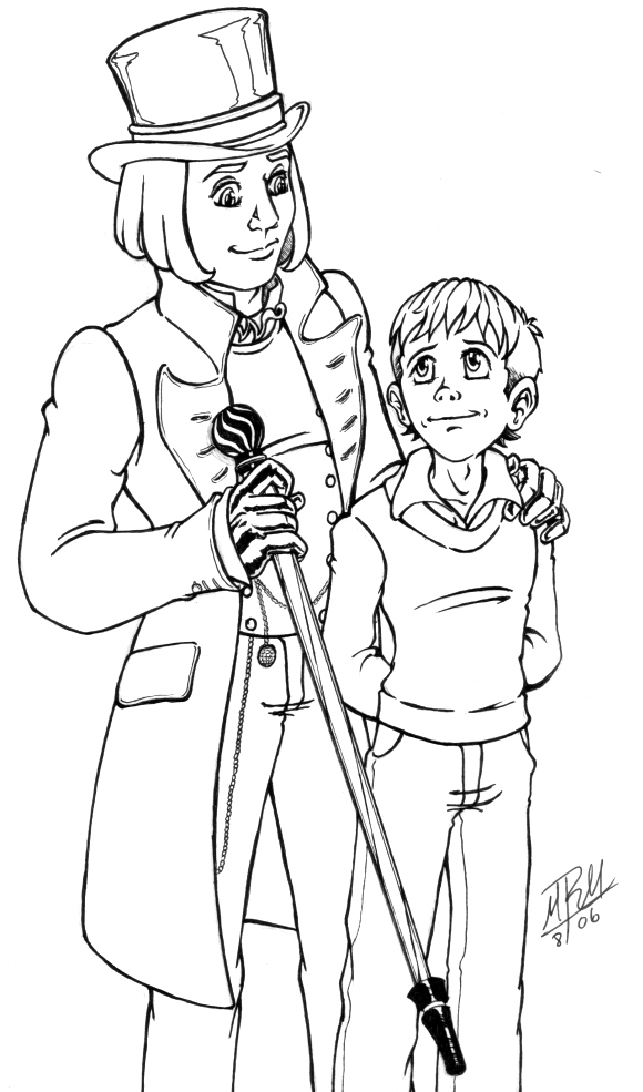 Charlie And The Chocolate Factory Drawing at GetDrawings