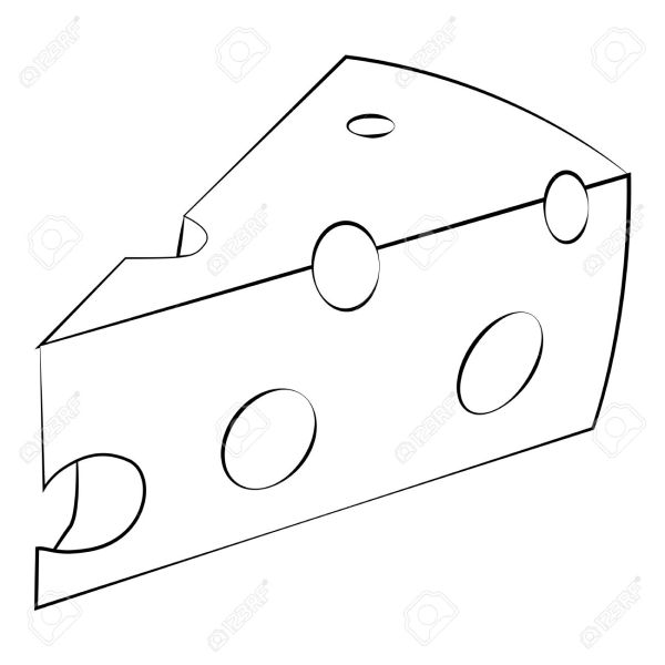Cheese Drawing at GetDrawingscom Free for personal use