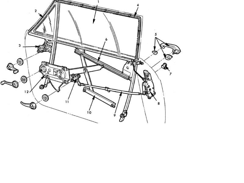 wiring diagram for drivers window 1995 chevy