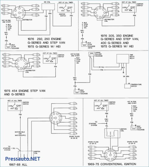 small resolution of 305 chevy starter wiring