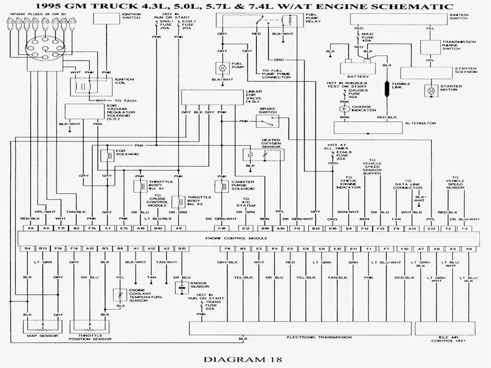 Transmission Wiring Diagram For 1987 Chevy Truck. Wiring