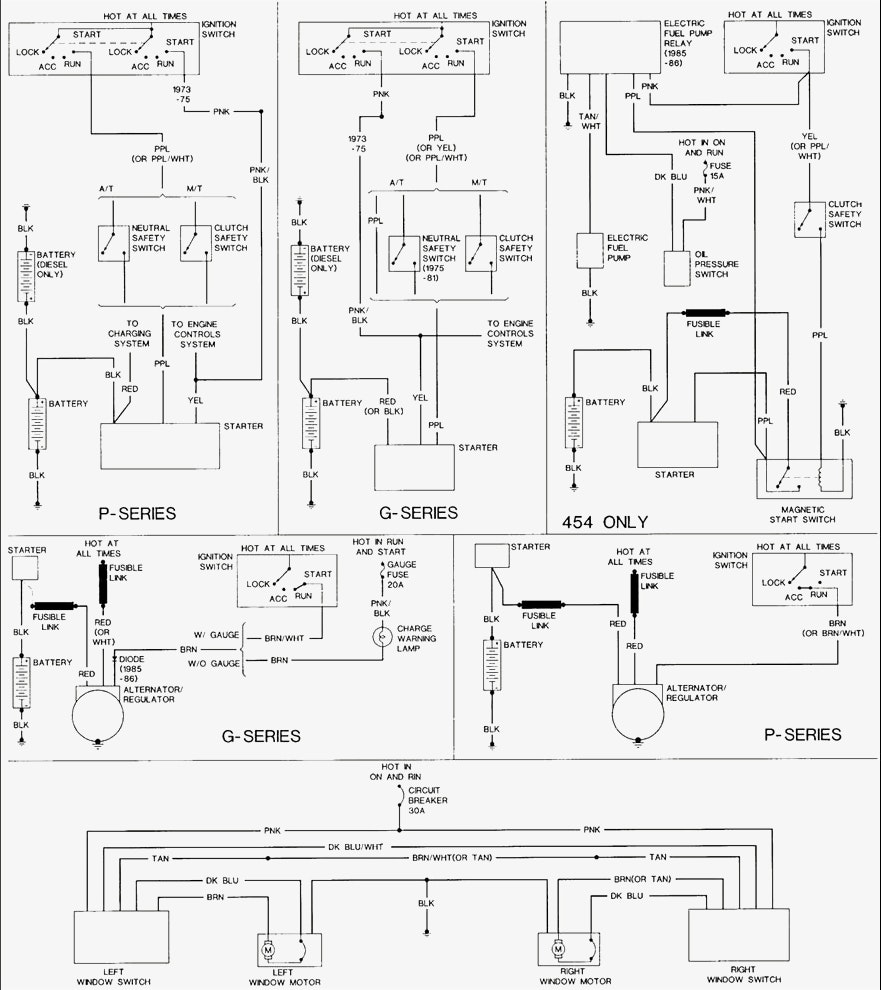 1988 Chevy Van Alternator Wiring Diagram • Wiring Diagram