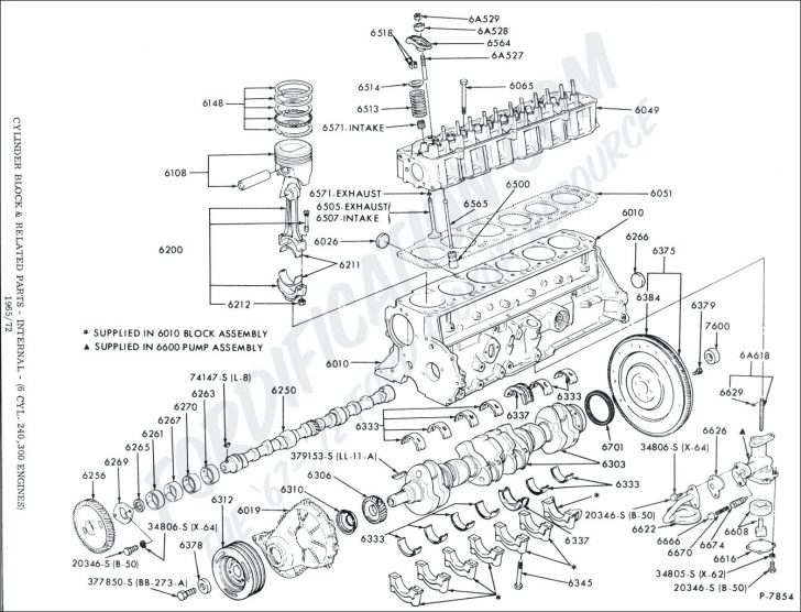 gmc 305 engine diagram