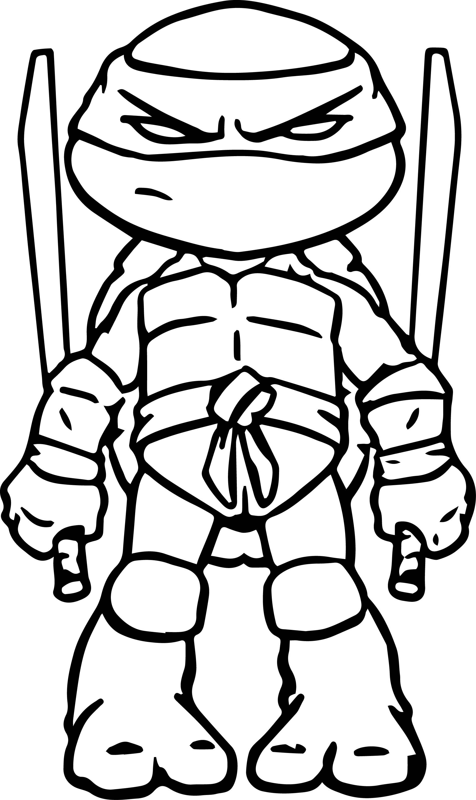 Chibi Turtle Drawing At Getdrawings