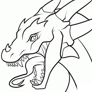 dragon chinese easy drawing drawings draw beginners getdrawings