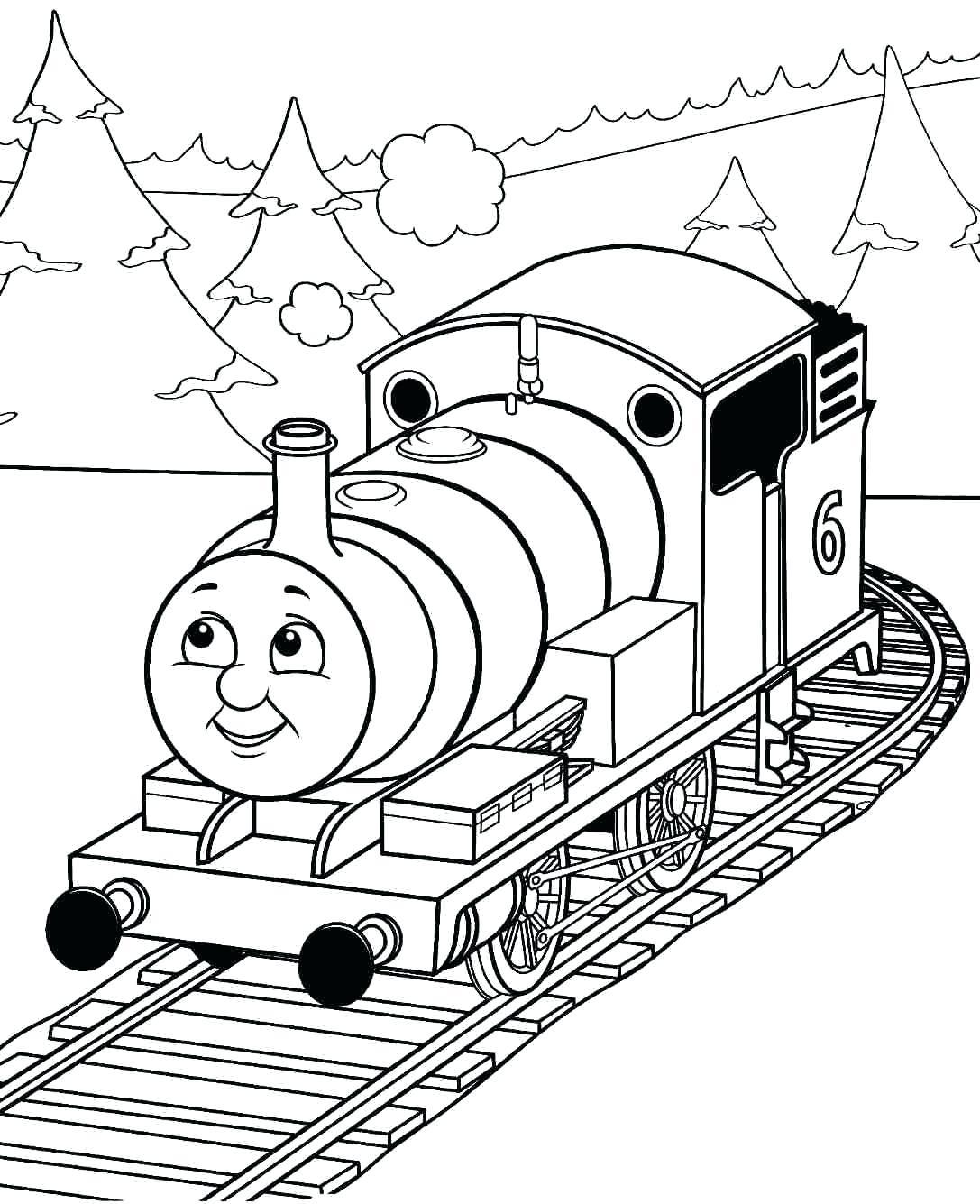 Choo Choo Train Drawing At Getdrawings