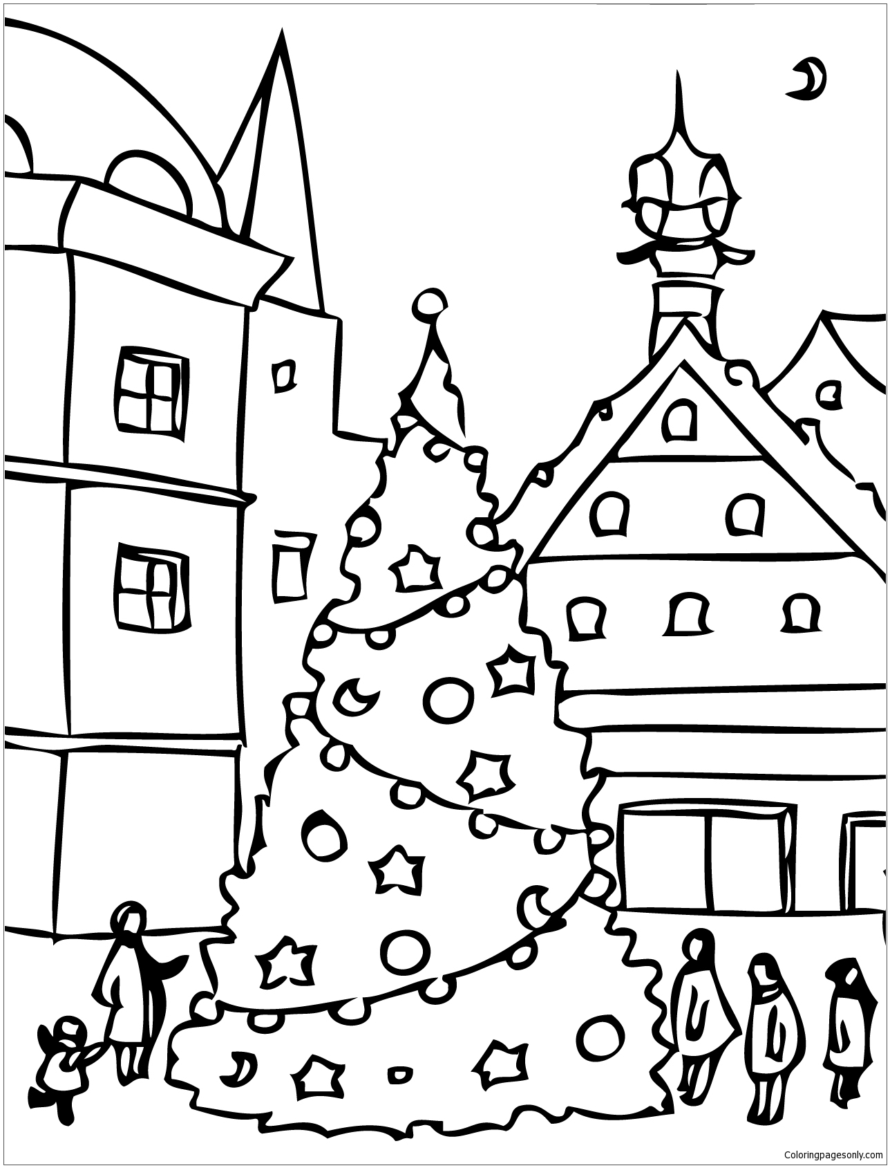 Christmas Day Drawing At Getdrawings