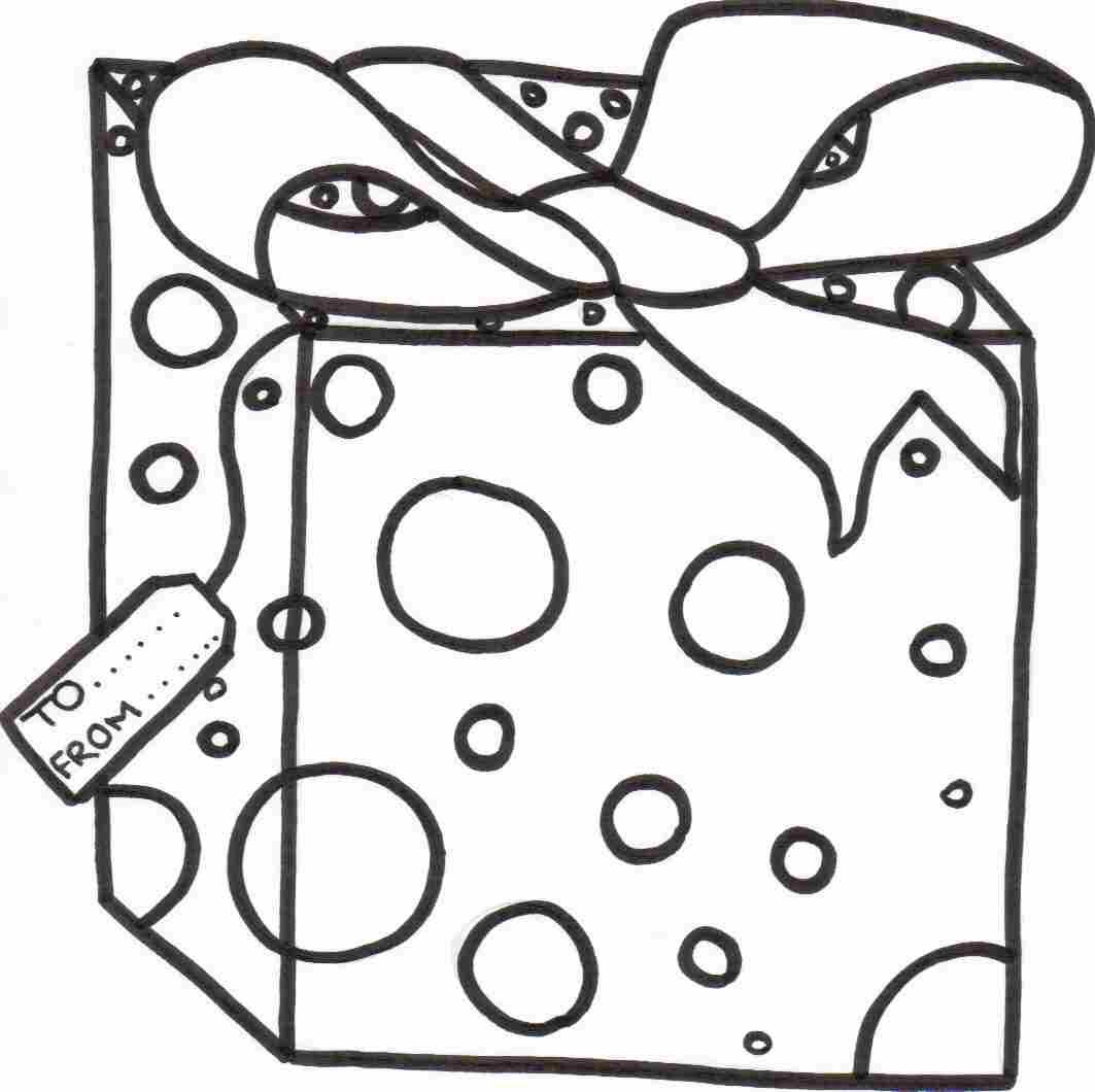 Christmas T Box Drawing At Getdrawings