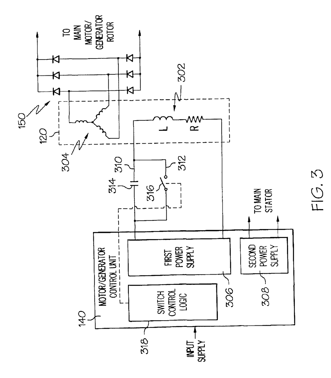 hight resolution of 1100x1258 patent us5051681 electronic circuit for a single phase induction