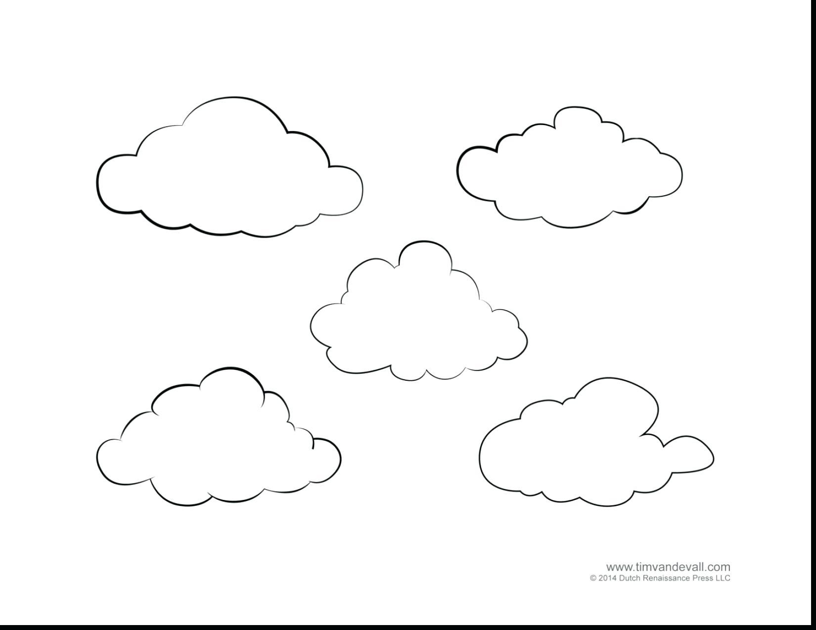 Cirrus Clouds Drawing At Getdrawings