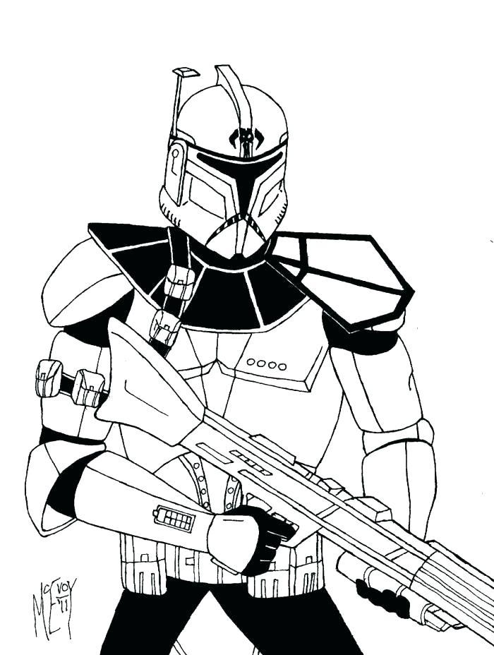 Clone Trooper Drawing At Getdrawings Com